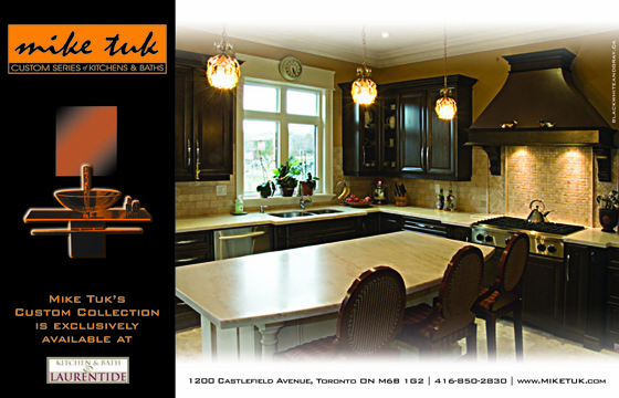 Mike Tuk Custom Kitchens - Print Ad 1